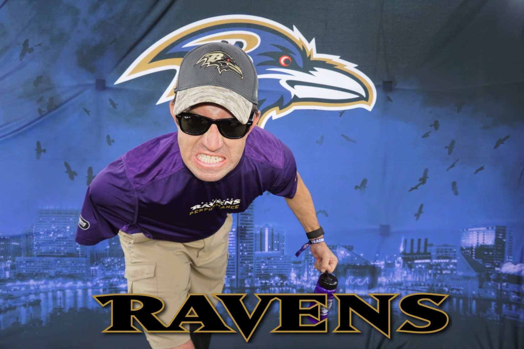 Baltimore Ravens Stadium Photo Booth